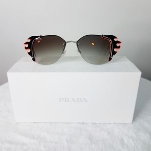 Prada Ornate Flaming Sunglasses